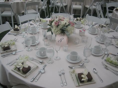 Table Setting For Wedding by Wedding Reception Table Settings What I Eat Everyday In