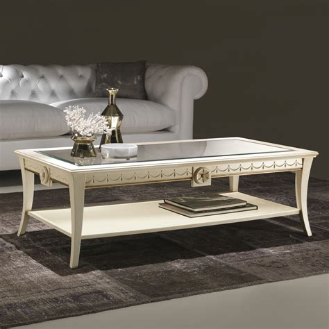 tavolo per salotto tavolino da salotto di stile classico scarlatti arredaclick
