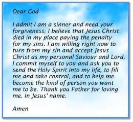 If you prayed this prayer or one like it and mean it in your heart