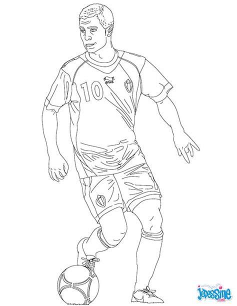 Coloriage Joueurs De Foot Eden Hazard Dessin De Football Imprimer Coloriage De Football L
