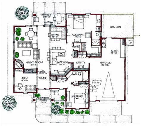 floor plan bungalow plan 1611sl contemporary bungalow house plan solar plans