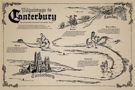 a map of the the searchers books map of the canterbury tales search books read