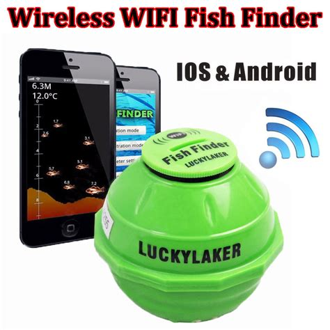 android finder aliexpress buy free shipping lucky ff916 sonar wireless wifi fish finder 50m 130ft sea