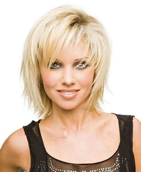 choppy bob for fine hair haircuts for long faces short layered haircuts styles