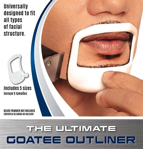 goatee templates beardoptima goatee outliner beard shaper
