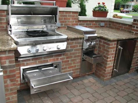 Backyard Bbq Troy Ohio Sleek Covered Bbq Area Designs Images Frompo