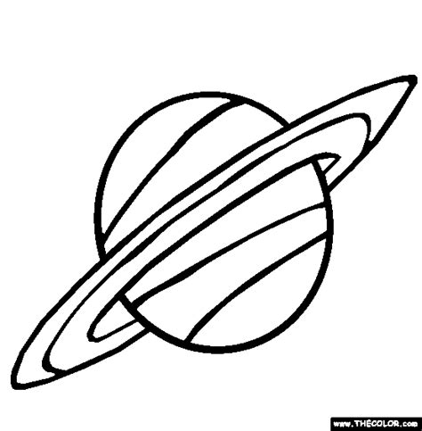 Coloring Pages For Kids Planet Saturn Coloring Pages Saturn Coloring Pages