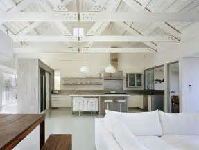 exposed beam ceiling ceilings exposed ceiling beams and rafters painted white visually enlarge a space ceilings