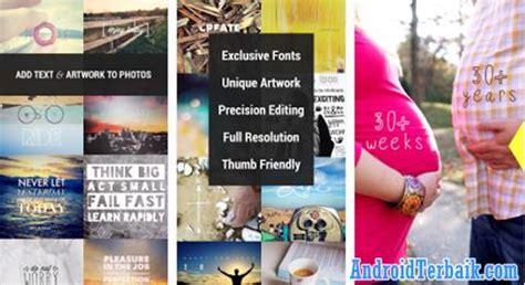 aplikasi untuk membuat tulisan online 5 aplikasi android keren untuk menulis kata di foto