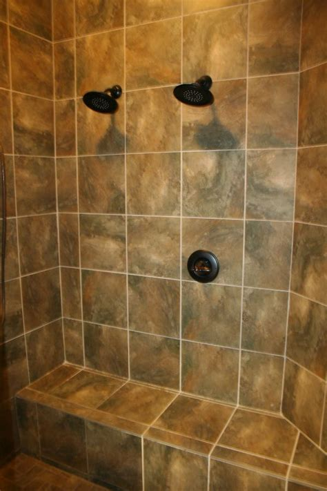 custom shower bench 17 best ideas about double shower heads on pinterest double shower rain shower