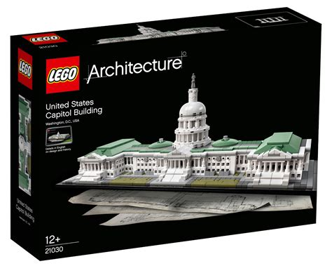 Set Tefity 3in1 Mus lego architecture united states capitol building byrnes