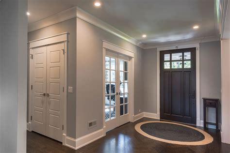 5 Panel Paint Grade Mdf Double Closet Door With Ball Catches For Closet Doors