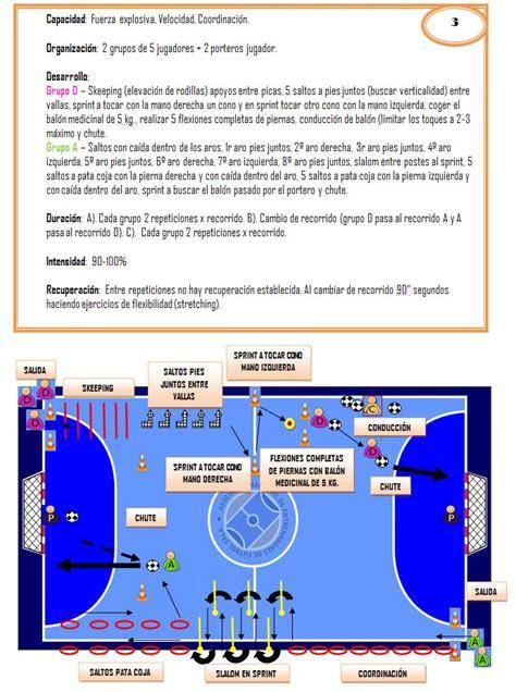 ejercicios futbol sala para ni os f 250 tbol sala dise 241 emos ejercicios integrados