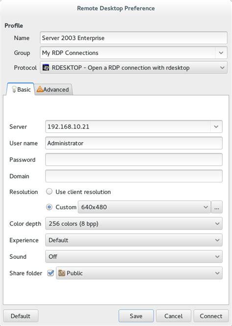 keyboard layout rdesktop remmina plugin rdesktop settings