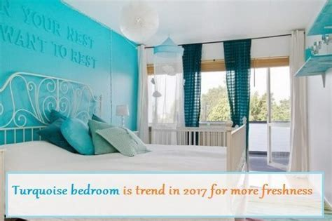Turquoise Bedroom Feng Shui Turquoise Bedroom Trends 2017 For More Freshness Decorationy