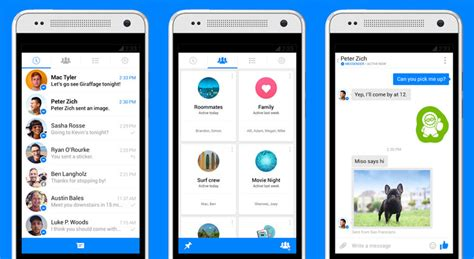messenger for android messenger to replace app s im abilities pocketnow