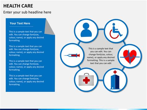 Health Care PowerPoint Template   SketchBubble