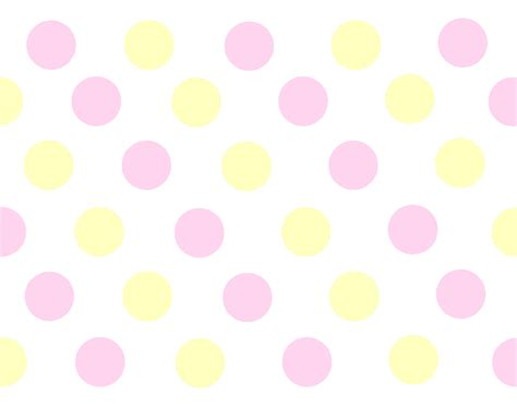 seamless vector yellow polka dots pattern on white background
