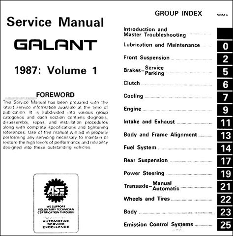 tire pressure monitoring 1987 mitsubishi l300 user handbook service manual 1987 mitsubishi galant factory security alarm manual mitsubishi galant 1988