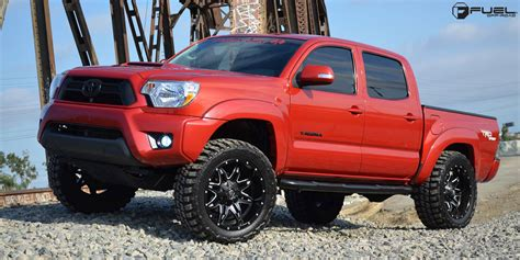 Toyota Tacoma On Rims Get Lethal With This Toyota Tacoma On Fuel Wheels
