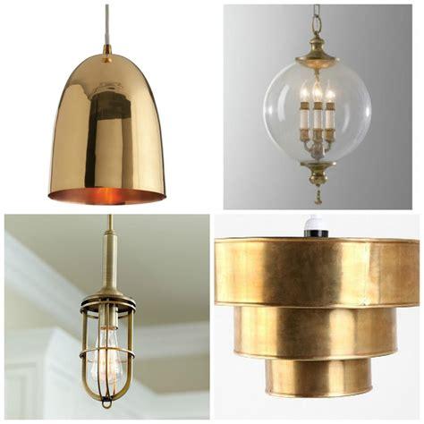 brass pendant light kitchen