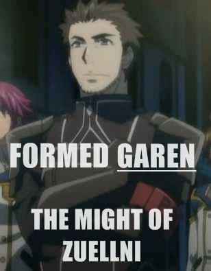 Garen Memes - formed garen the might of zuellni league of legends