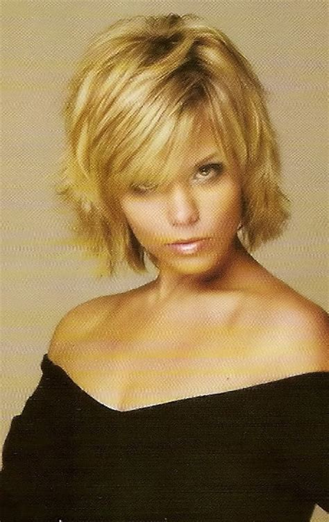 bang flip haie styles blonde short hairstyles for women bob cut bangs and