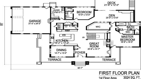 Two Bedroom House Plans With Garage by 2 Bedroom House Floor Plans With Garage 2 Bedroom Floor