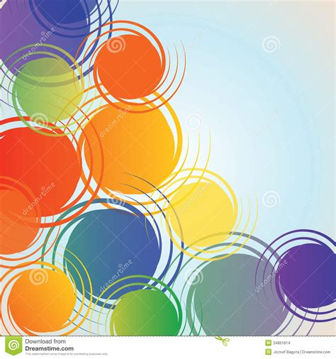 colorful design abstract background vector stock images image 34851814