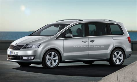 render some interesting styles of the new skoda rapid