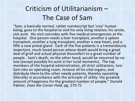 Utilitarianism Essay by Utilitarian Essays About