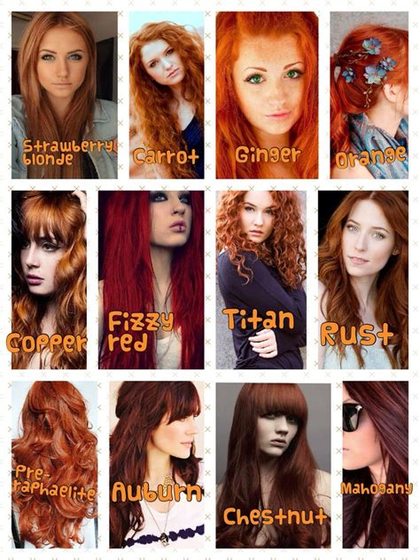 shades of red hair 25 best ideas about natural red hair on pinterest red