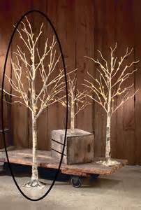 lighted birch tree decorative led lighted brown birch tree branch accent 72 quot large floor l ebay