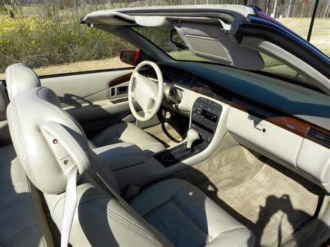eldorado upholstery 2001 cadillac eldorado convertible 102300