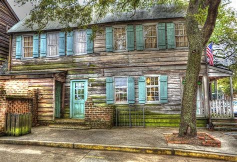 pirate house savannah the pirate s house print by rick lawrence