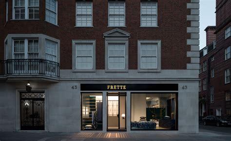 italian architect alfredo zengiaro collaborates with frette opens dimore studio designed london store wallpaper