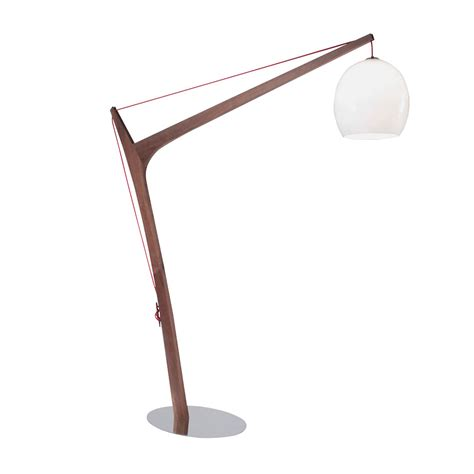 Great Dining Rooms by Imposing Wooden Floor Lamp From Roche Bobois