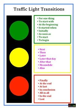 words for light in other languages traffic light transition words by al qadry resources tpt