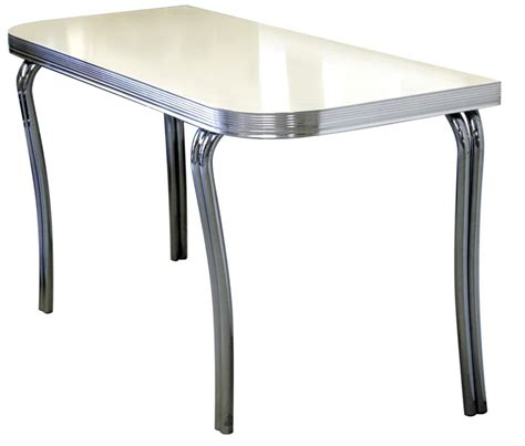 diner tafel american 50s style diner tables wo24 half rectangular