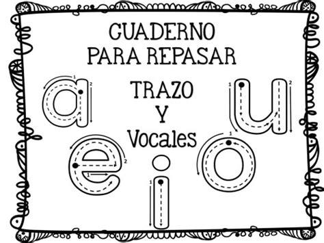 imagenes de trazos libres fichas de trazo y grafomotricidad para las vocales en