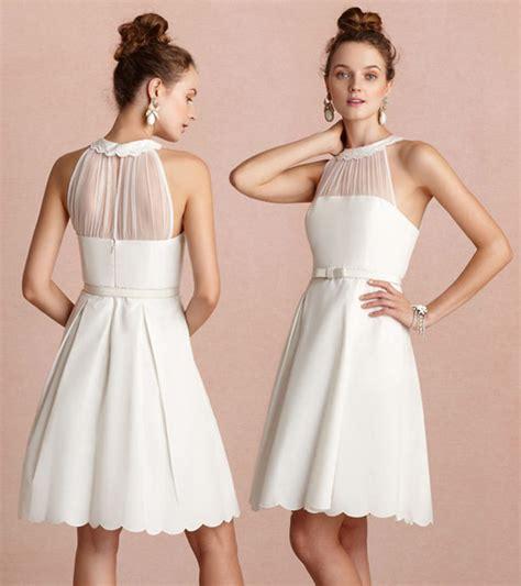 Robe Blanche Simple Pour Mariage - robe blanche pour invit 233 mariage viviane boutique