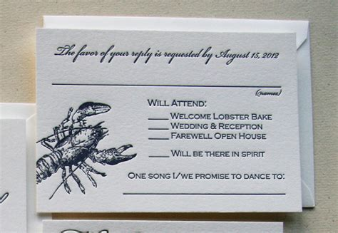 sle wedding rsvp text response card wording for wedding invitations