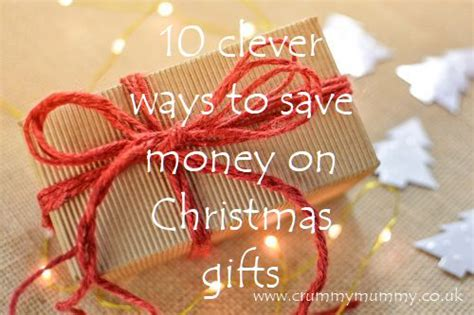 how to save money on christmas presents confessions of a crummy mummy