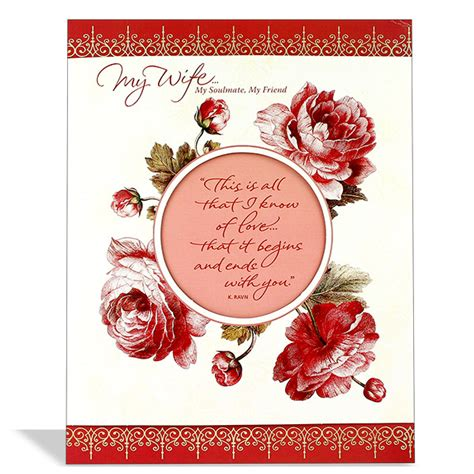 printable anniversary cards for wife wife anniversary card at best prices in india