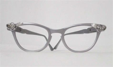 reserved cool matte aluminum cat eye eyeglass frames