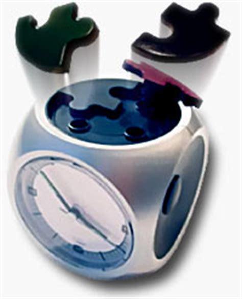 Puzzle Alarm Clock by Exploding Puzzle Alarm Clock