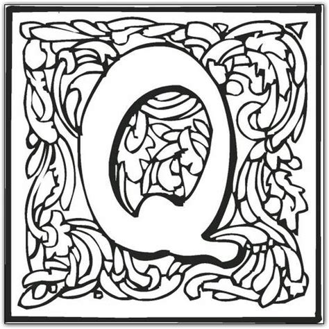 coloring pages of fancy alphabet letters free coloring pages of fancy cursive letters