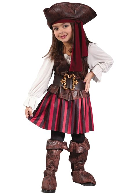 toddler girls halloween costumes caribbean toddler pirate costume