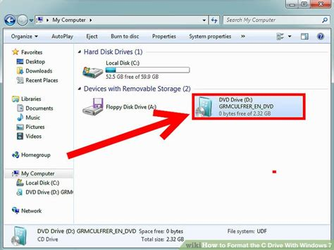 drive windows 7 how to format the c drive with windows 7 8 steps with