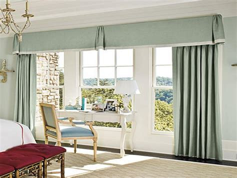 blind curtains great curtain patterns for large windows - Curtains For Large Living Room Windows